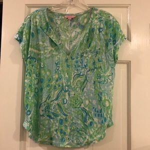 Lilly Pulitzer printed tee